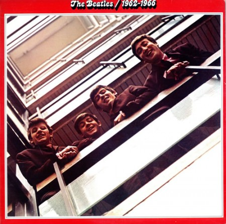 1962-1966 Red Vinyl - Beatles
