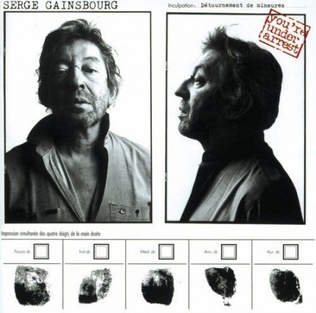 Serge Gainsbourg - You're Under Arrest Record