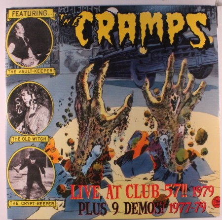 Cramps | Live at the club 57!! 1979 & studio demos