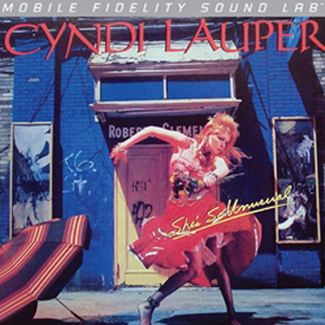 Cyndi Lauper - She's So Unusual - Mobile Fidelity Sound Lab