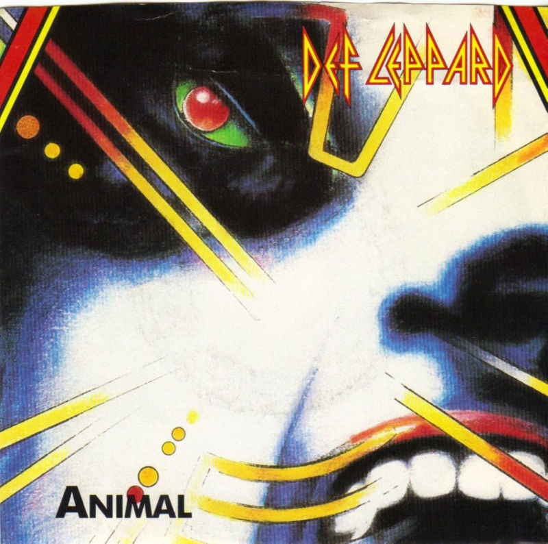 Def Leppard | Animal / tear it down (1987)