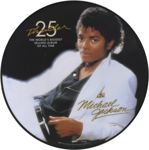 Michael Jackson | Thriller 25 picture disc Picture disc (2008)