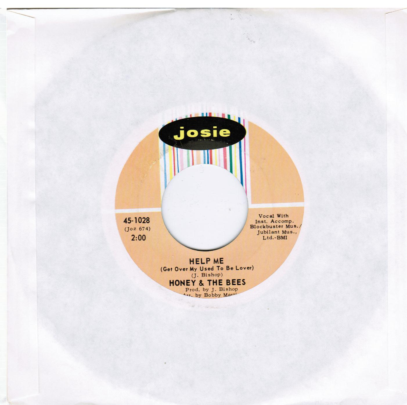 Honey & The Bees   Help Me (Get Over My Used To Be Lover) / We Got To Stay Together