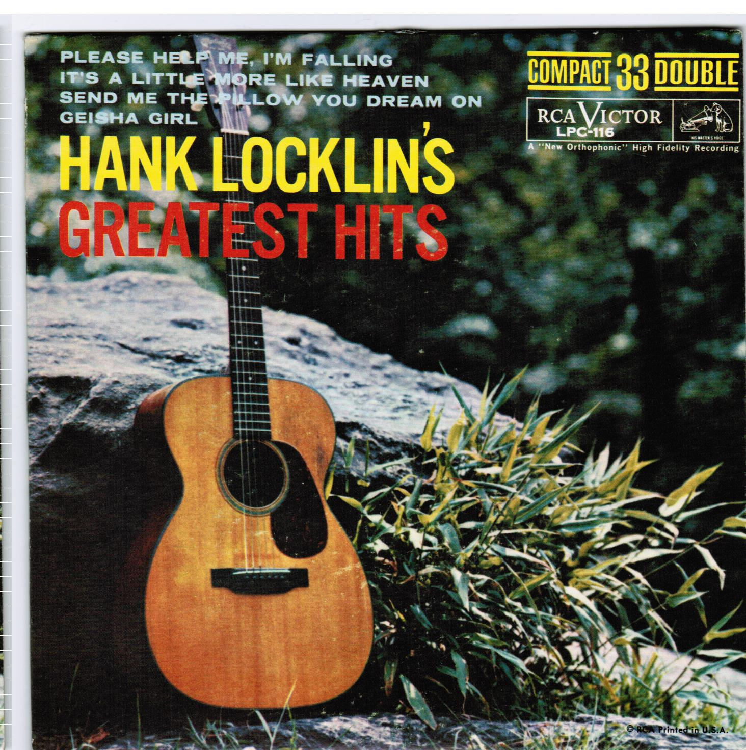 Hank Locklin | Hank Locklin's Greatest Hits EP (1961)