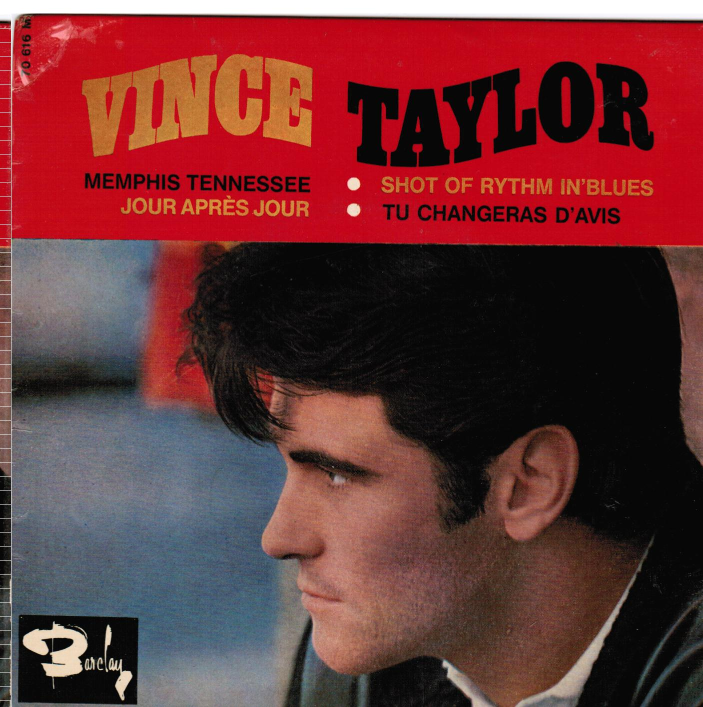 Vince Taylor | Memphis Tennessee French EP