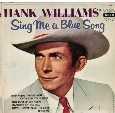 Hank Williams | Sing Me A Blue Song