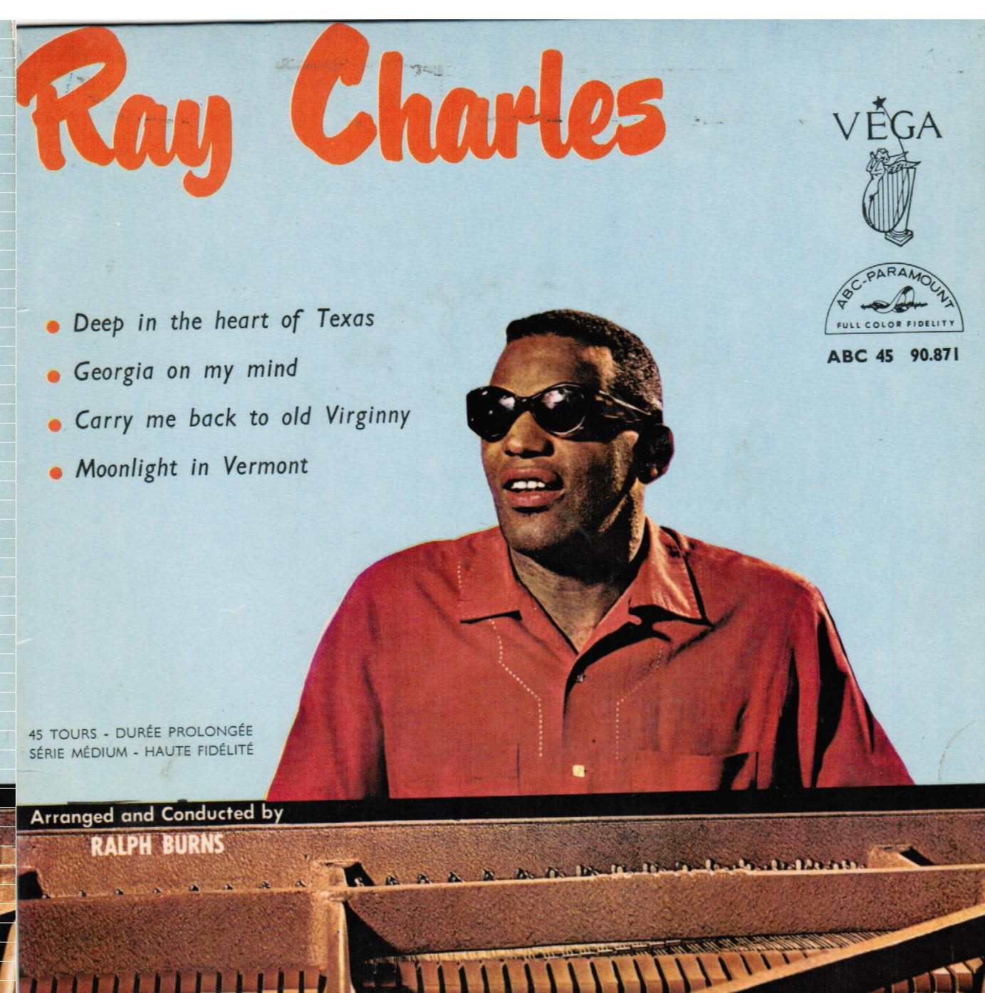 Ray Charles | Deep In The Heart Of Texas / Georgia On My Mind / Carry Me Back To Old Virginny / Moonlight In Vermont