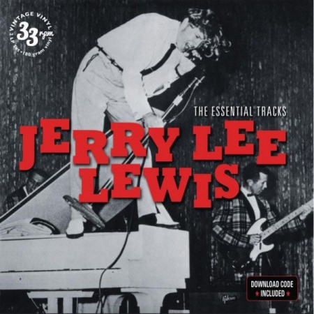 JERRY LEE LEWIS - Jerry Lee Lewis The Essential Tracks - LP