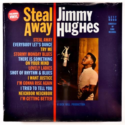 Jimmy Hughes | Steal Away (sealed) Colored vinyl (1964/2014)