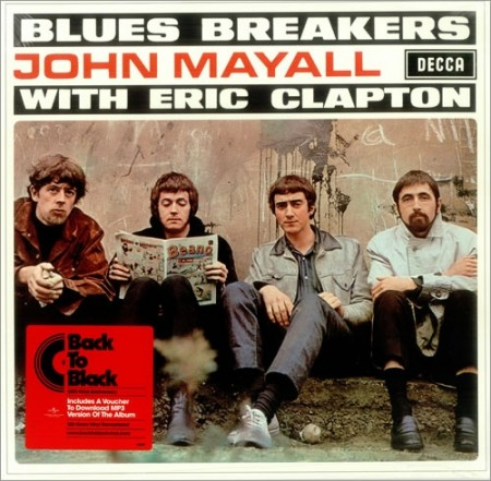 John Mayall With Eric Clapton | Blues Breakers (sealed) 180 gr. (1966/2008)