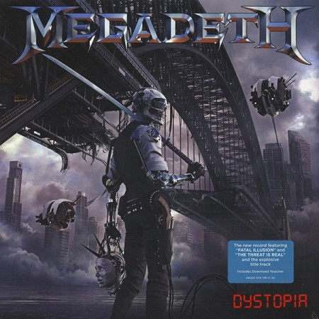 Megadeth | Dystopia (sealed) (2016)