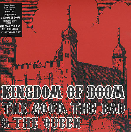 Good the bad & the queen   Kingdom of doom / start point (sketches of devon) Colored vinyl (2007)