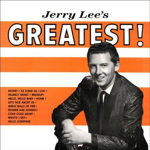 Jerry Lee Lewis   Jerry Lee's greatest ! (2012)