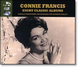 Connie Francis | Eight Classic Albums