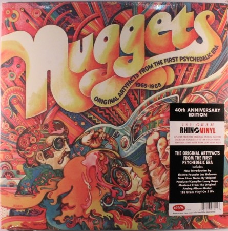 Various Artists | Nuggets Original Artyfacts From The First Psychedelic Era 1965-1968 180 gr. (1972/2012)