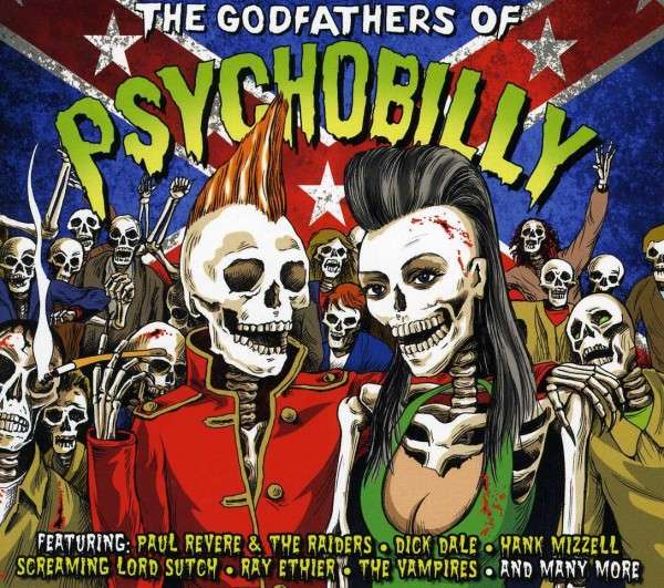 Various Artists | The Godfathers Of Psychobilly (2012)
