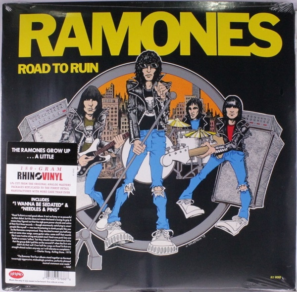 Ramones | Road To Ruin (sealed) 180 gr. (1978/2011)