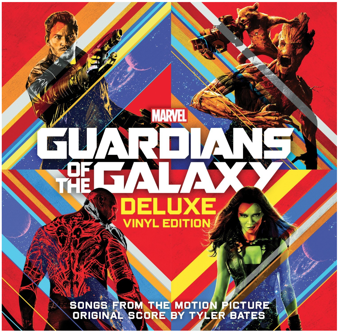 Various Artists | Marvel Guardians of the Galaxy Deluxe Vinyl Edition